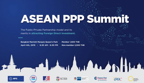 Organization of the 2019 edition of the ASEAN PPP Summit in Bangkok