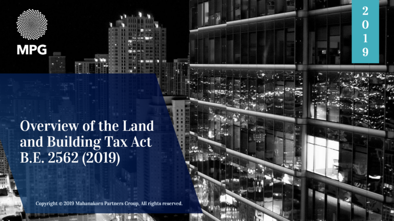 Overview of the Thailand Land and Building Tax Act B.E. 2562