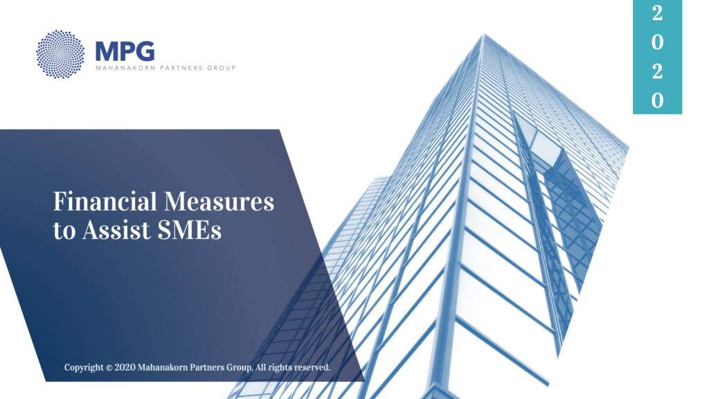 MPG Financial Measures to Assist SMEs